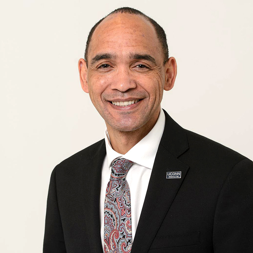 Dr. Andrew Agwunobi, chief executive officer and executive vice president for health affairs at UConn Health