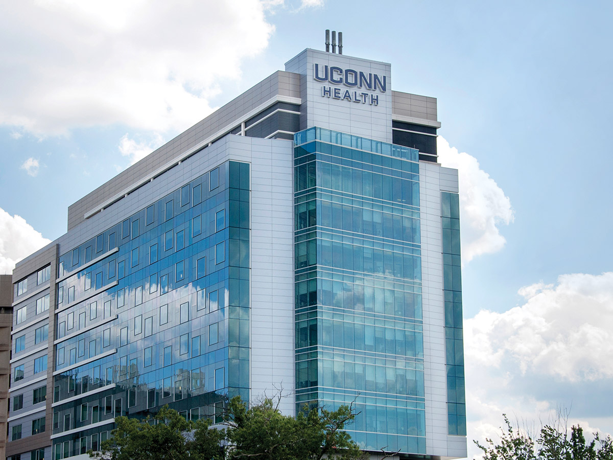 The New Uconn Health Patient Care Tower