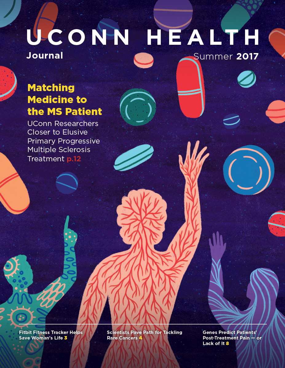 the cover of UConn Health Journal's Summer 2017 Issue