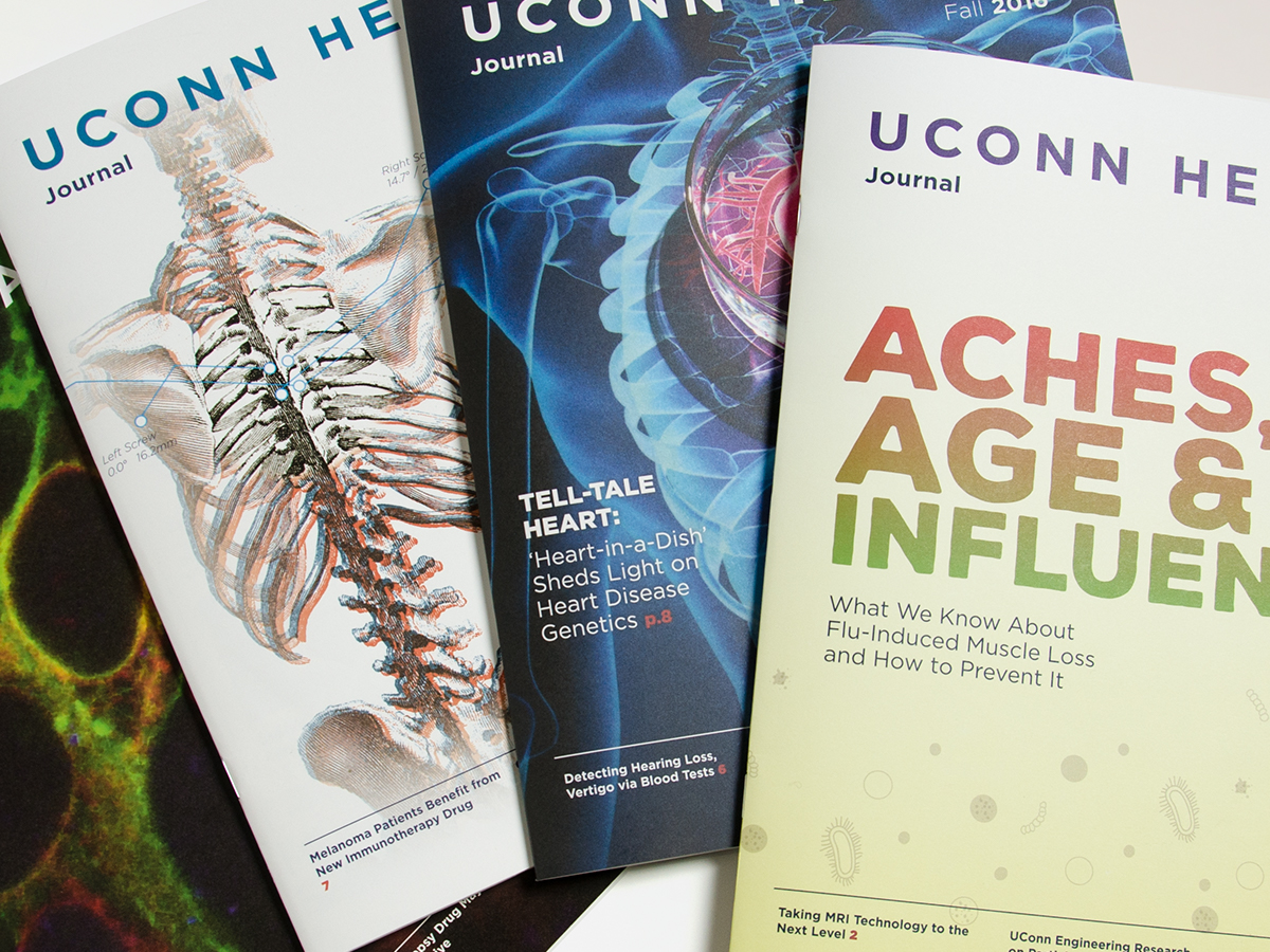 UConn Health Journal magazines