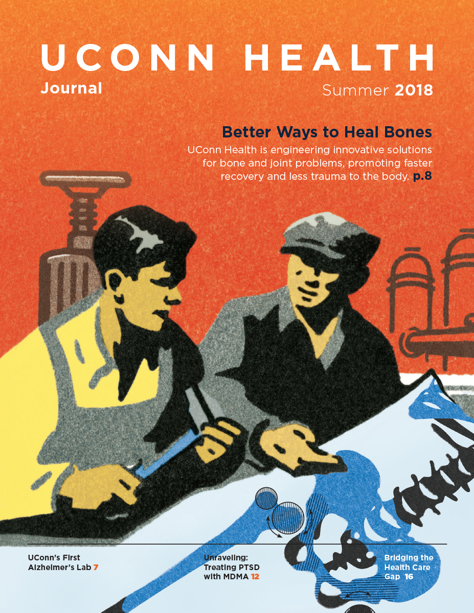 The Summer 2018 issue cover