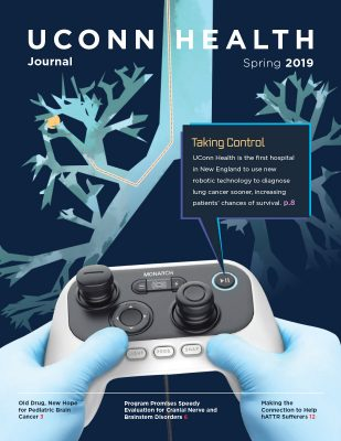 cover of UConn Health Journal spring issue 2019