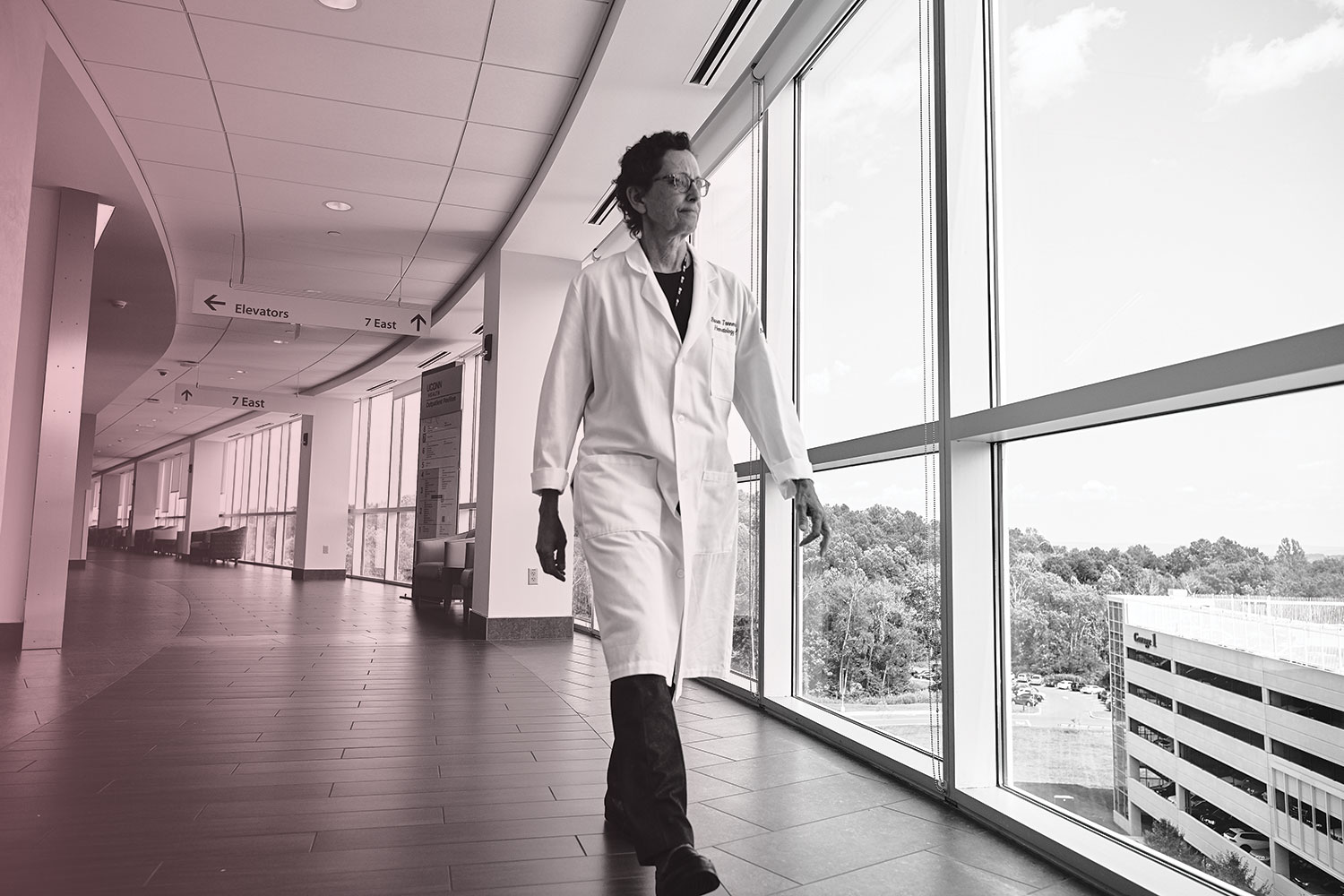 UConn medical oncologist Dr. Susan Tannenbaum initiated the multidisciplinary focus of the breast program, connecting patient care to research and bringing accreditation through the American College of Surgeons, before handing the reins to surgeon Dr. Christina Stevenson.